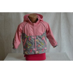 Дитяча курточка з капюшоном