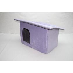 Будиночок Затишок для котів і собак Клітка