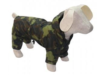 Дощовик Камуфляж з капюшоном для собак