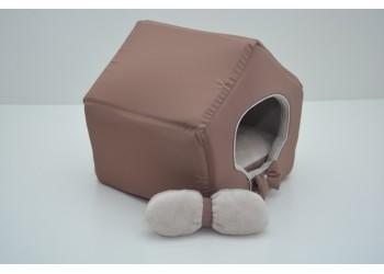 Будиночок для котів і собак VIP плюш