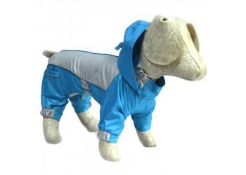 Комбінезон дощовик для собак на підкладці