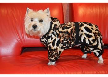 Комбінезон Лева з капюшоном для собак