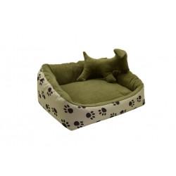 Лежак Глорія для котів і собак бежевий