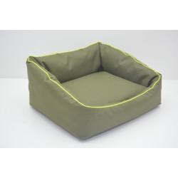 Лежак Шик для собак і котів хакі