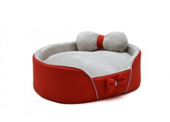 Лежак VIP плюш для котів і собак