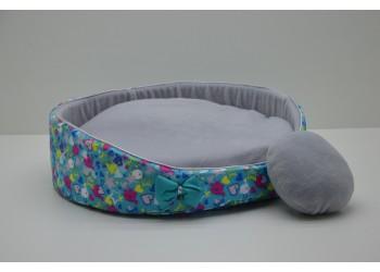 Лежак Зірочка круглий для котів і собак
